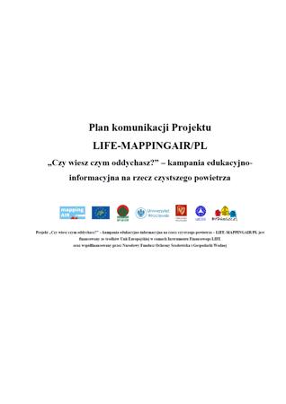 Plan komunikacji Projektu
