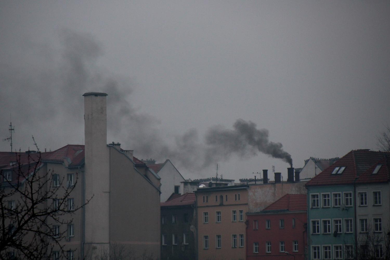 Kłodzko - dymiący komin 1