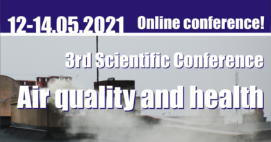 """III Scientific Conference """"AIR QUALITY and HEALTH"""""""
